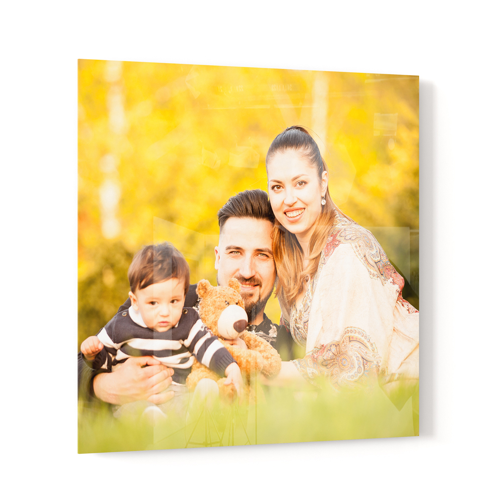 Personalised Photo Panel - 5mm Acrylic - 203x203mm