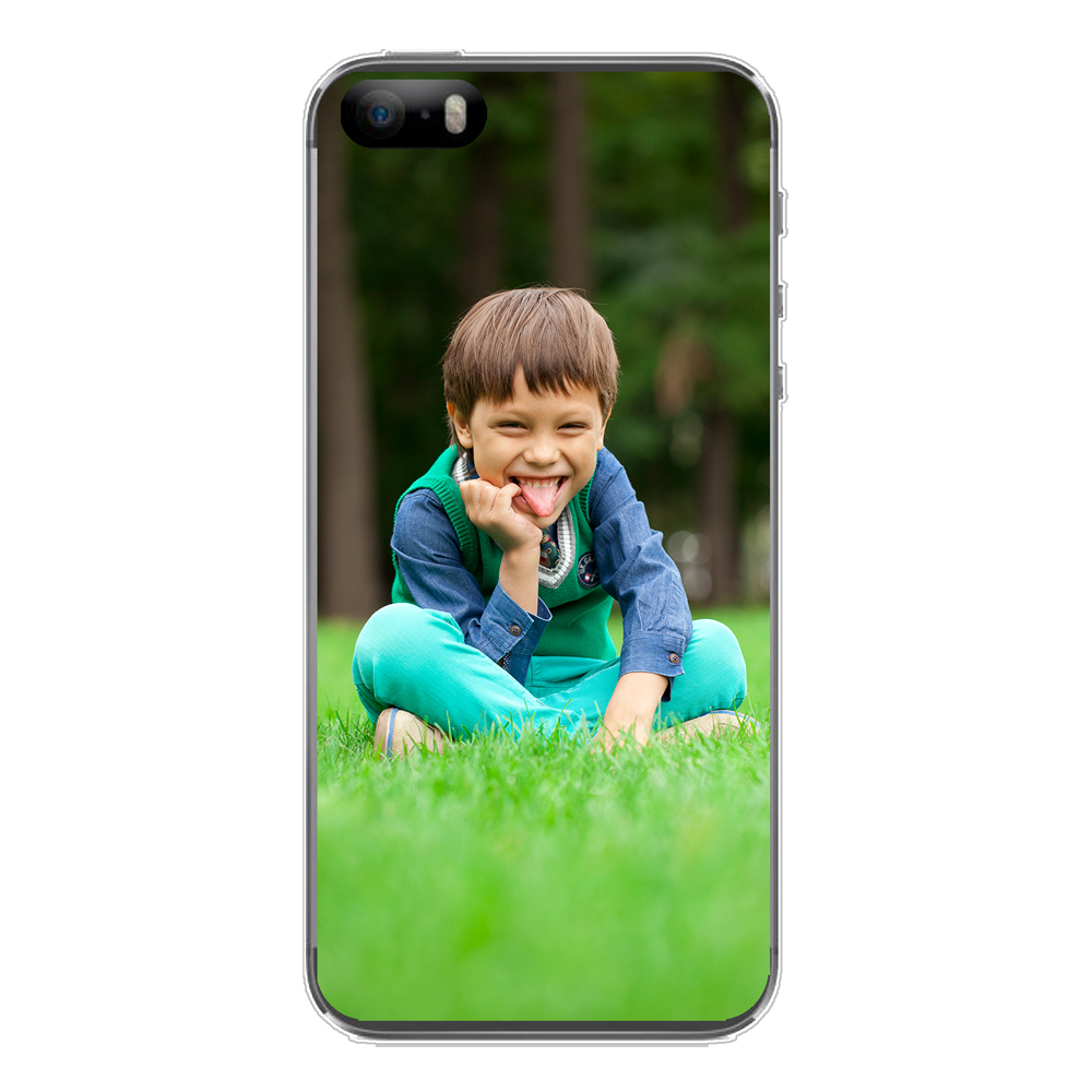 Personalised photo phone case for the Apple iPhone SE