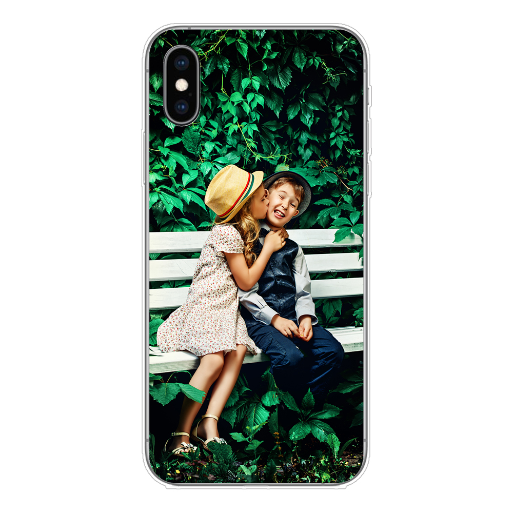 Personalised photo phone case for the Apple iPhone XS