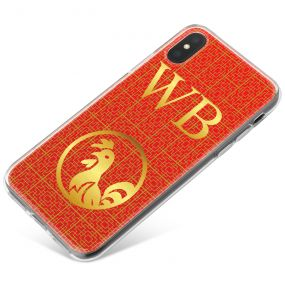 Chinese Zodiac- Year of the Rooster phone case available for all major manufacturers including Apple, Samsung & Sony