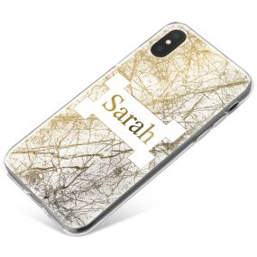 Looking Up in a Forest phone case available for all major manufacturers including Apple, Samsung & Sony