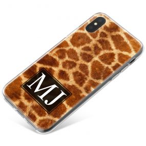 Giraffe Print phone case available for all major manufacturers including Apple, Samsung & Sony