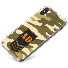 Olive Green Jungle Camo phone case available for all major manufacturers including Apple, Samsung & Sony