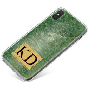 Jade Eye Agate with Golden Latice phone case available for all major manufacturers including Apple, Samsung & Sony