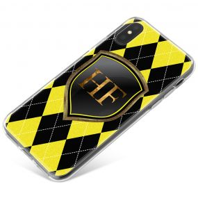 Black And Yellow Coats Of Arms phone case available for all major manufacturers including Apple, Samsung & Sony