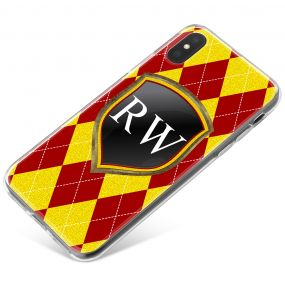 Crimson And Gold Coats Of Arms phone case available for all major manufacturers including Apple, Samsung & Sony