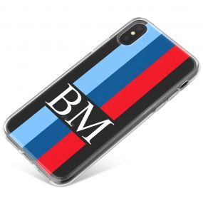 3 Tone Racing Stripes phone case available for all major manufacturers including Apple, Samsung & Sony