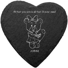 Teddy Bear Slate Placemat