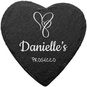 Prosecco Slate Coaster