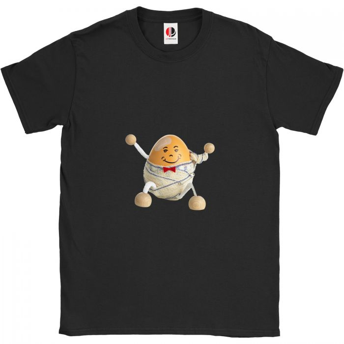 Kid's Black T-Shirt (3-4 Years Old)