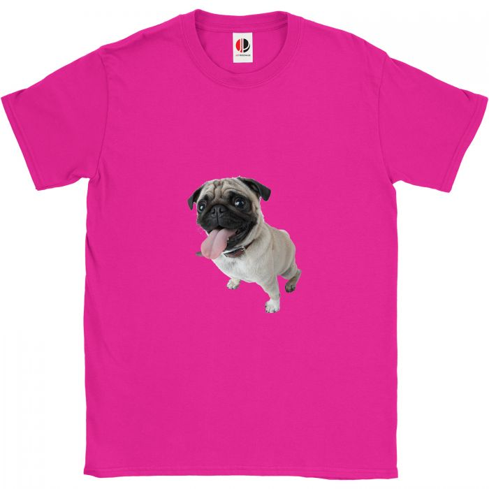 Kid's Hot Pink T-Shirt (3-4 Years Old)