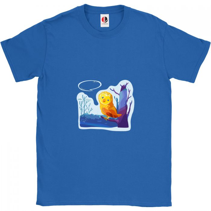 Kid's Royal Blue T-Shirt (3-4 Years Old)