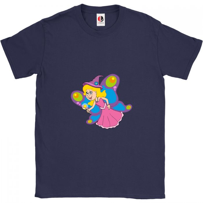 Kid's Navy T-Shirt (7-8 Years Old)