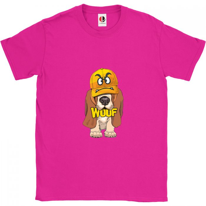 Kid's Hot Pink T-Shirt (7-8 Years Old)