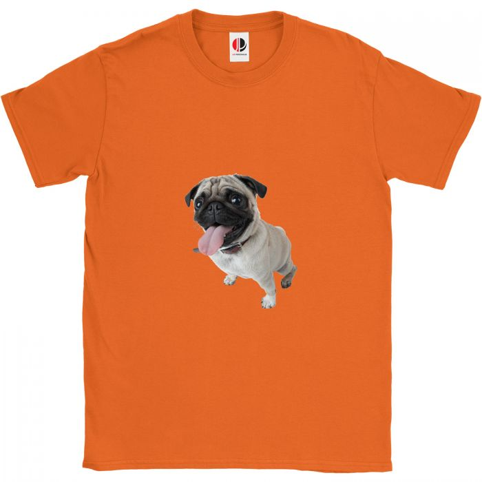 Kid's Orange T-Shirt (7-8 Years Old)