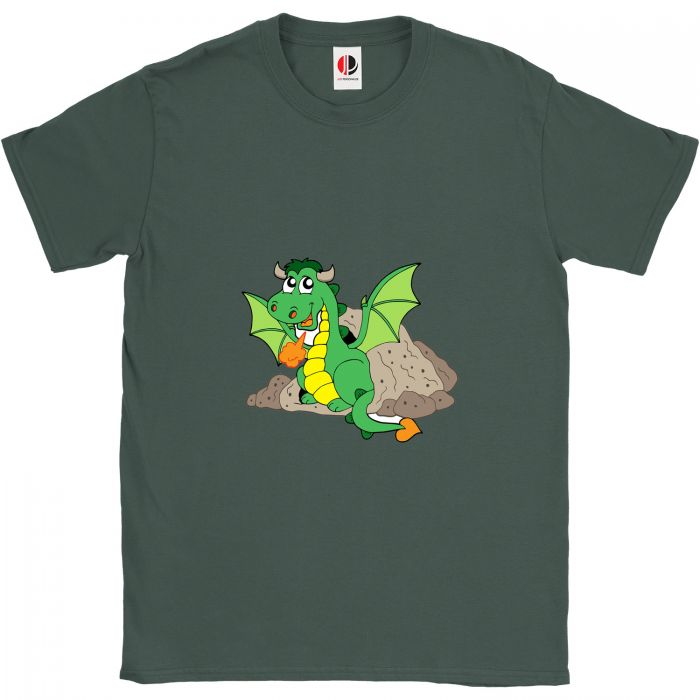 Kid's Green T-Shirt (7-8 Years Old)