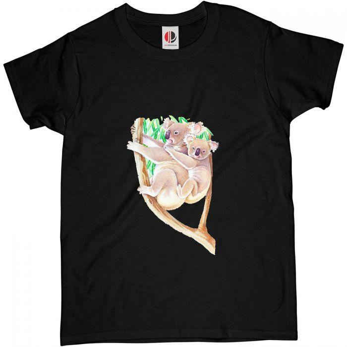 Women's Black T-Shirt (Large)