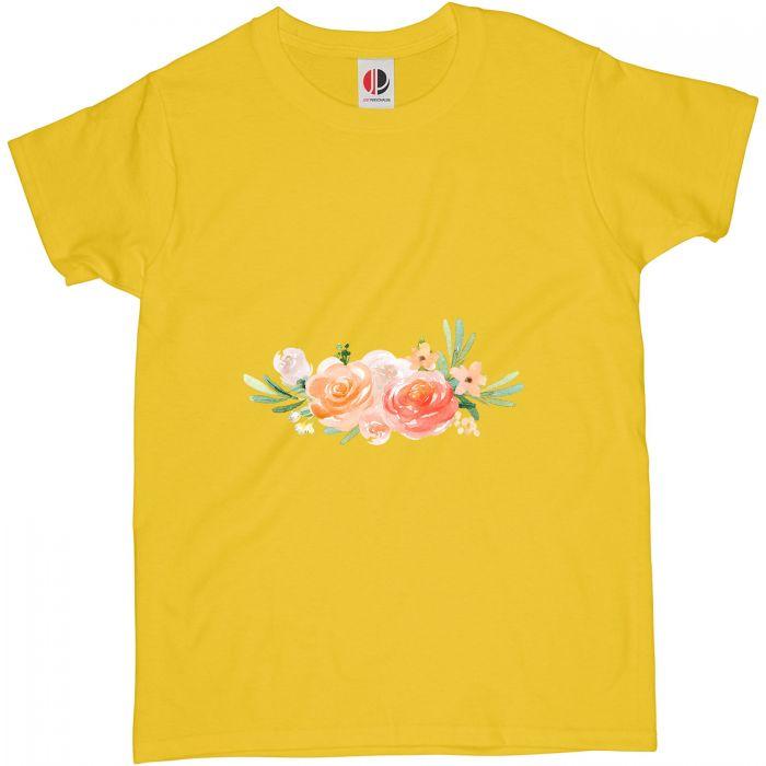 Women's Yellow T-Shirt (Large)