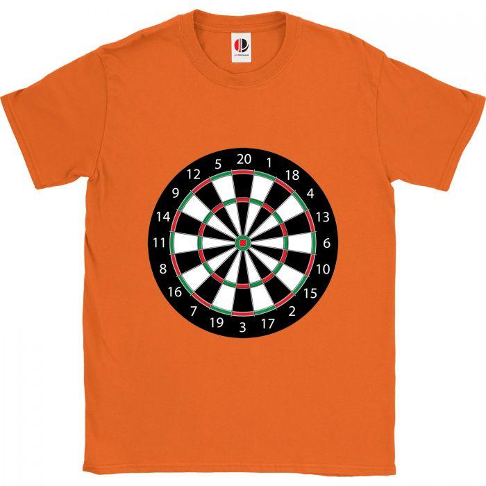Men's Orange T-Shirt (2XLarge)