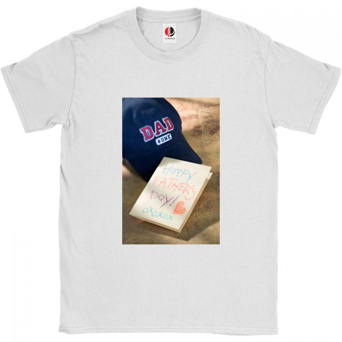 Men's White T-Shirt (2XLarge)