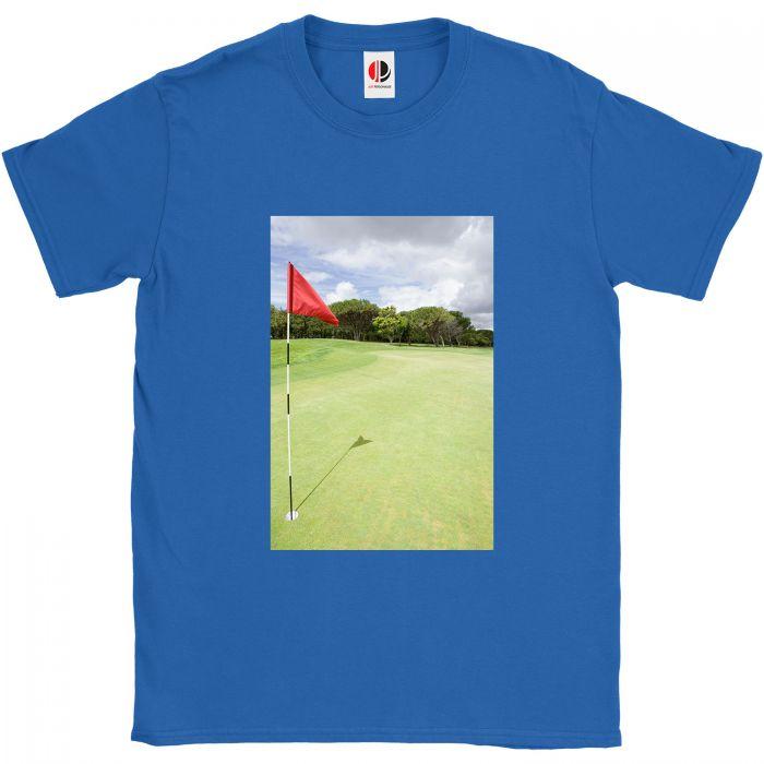 Men's Royal Blue T-Shirt (2XLarge)