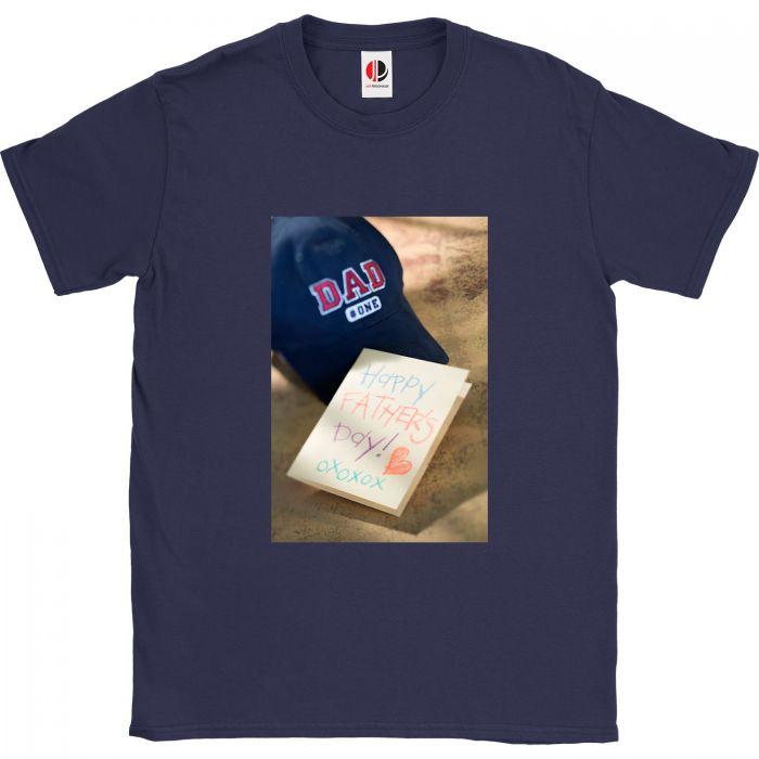 Men's Navy T-Shirt (4XLarge)