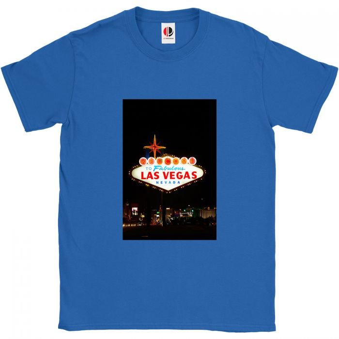 Men's Royal Blue T-Shirt (4XLarge)