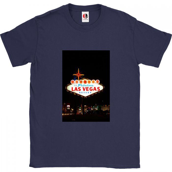 Men's Navy T-Shirt (Large)