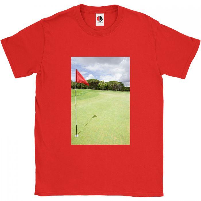 Men's Red T-Shirt (Large)