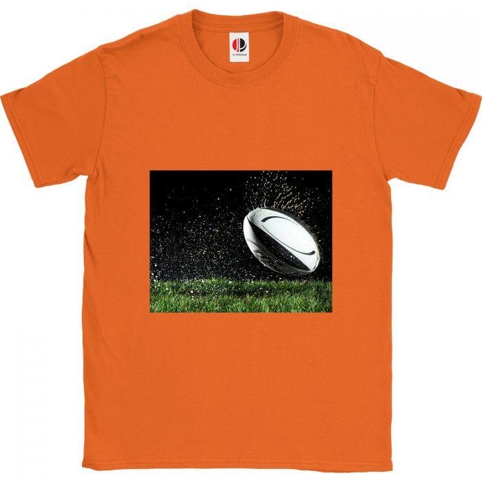 Men's Orange T-Shirt (Small)