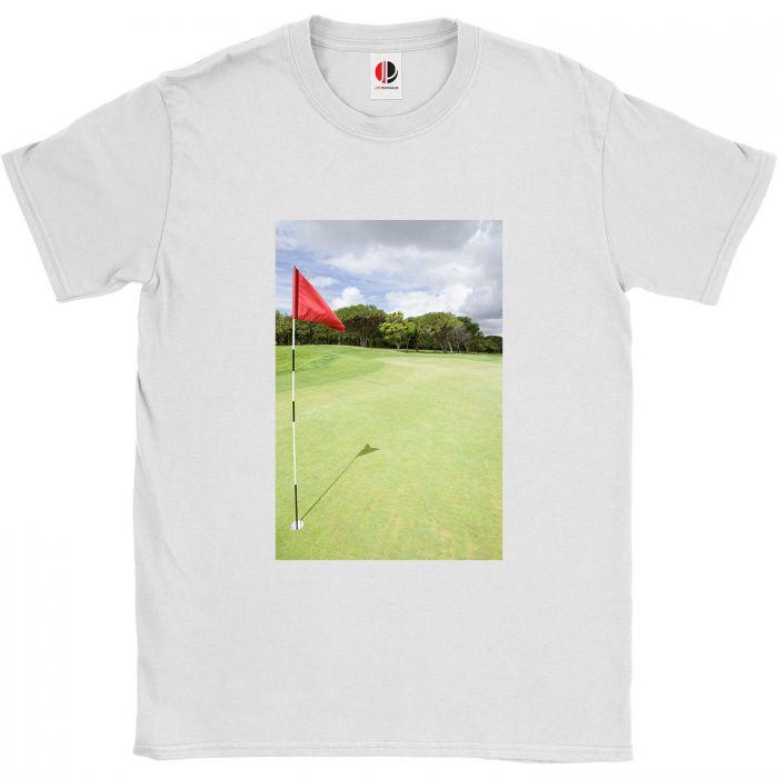 Men's White T-Shirt (Small)