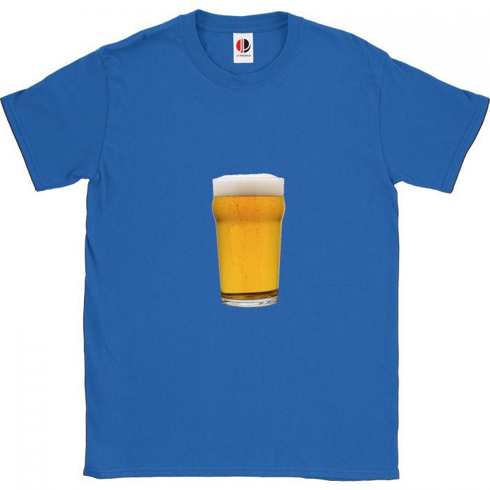 Men's Royal Blue T-Shirt (Small)