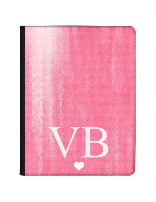 Pink Watercolour effect tablet case available for all major manufacturers including Apple, Samsung & Sony