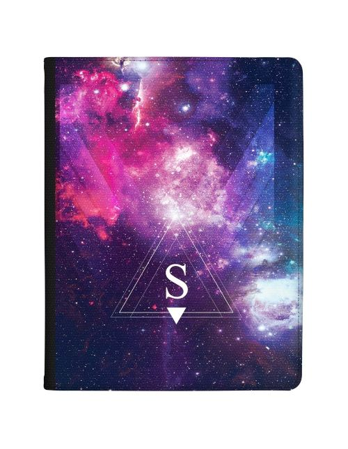 Vibrant Purple Galaxy Design tablet case available for all major manufacturers including Apple, Samsung & Sony