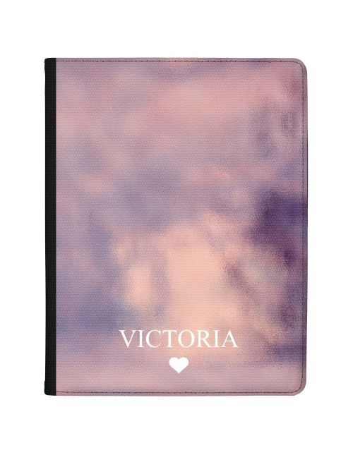 Dark Pink Watercolour effect tablet case available for all major manufacturers including Apple, Samsung & Sony
