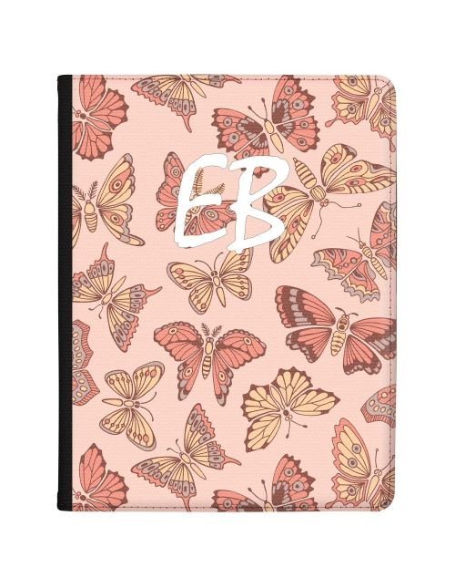 Pink and Yellow Butterflies tablet case available for all major manufacturers including Apple, Samsung & Sony