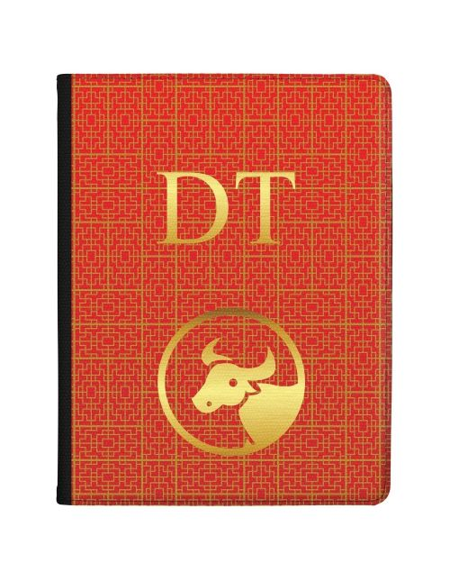 Chinese Zodiac- Year of the Ox tablet case available for all major manufacturers including Apple, Samsung & Sony