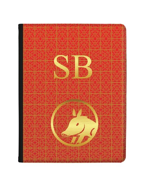 Chinese Zodiac- Year of the Pig tablet case available for all major manufacturers including Apple, Samsung & Sony