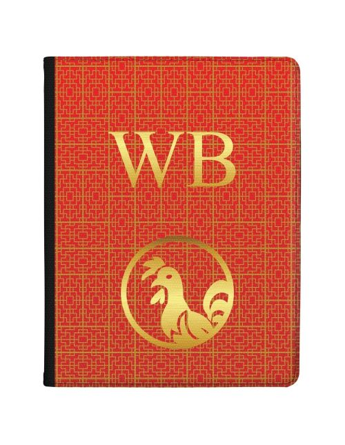Chinese Zodiac- Year of the Rooster tablet case available for all major manufacturers including Apple, Samsung & Sony