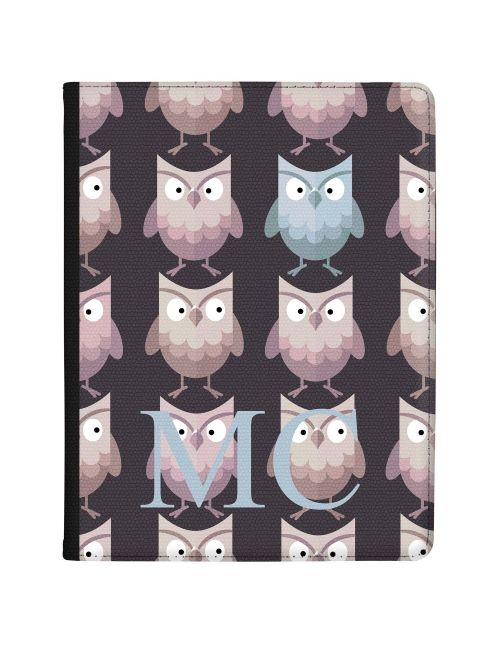 Blue and Brown Owls tablet case available for all major manufacturers including Apple, Samsung & Sony