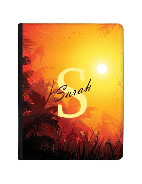 Sunset in the Jungle tablet case available for all major manufacturers including Apple, Samsung & Sony