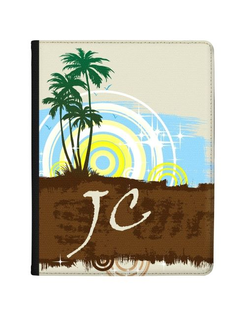 Stylised Palm Trees tablet case available for all major manufacturers including Apple, Samsung & Sony