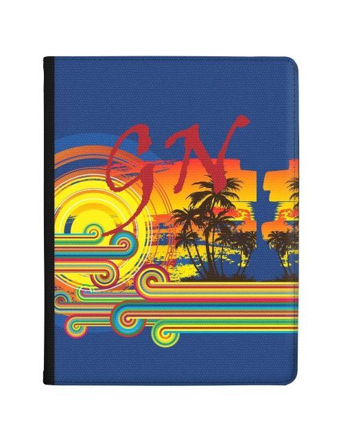 Palm Trees in the Evening tablet case available for all major manufacturers including Apple, Samsung & Sony
