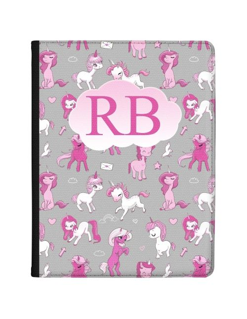 Cartoon Unicorns tablet case available for all major manufacturers including Apple, Samsung & Sony