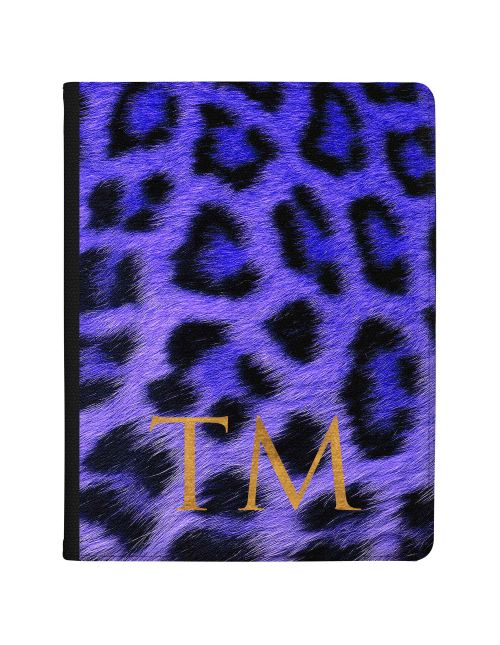 Cheetah Print - Sapphire Blue tablet case available for all major manufacturers including Apple, Samsung & Sony