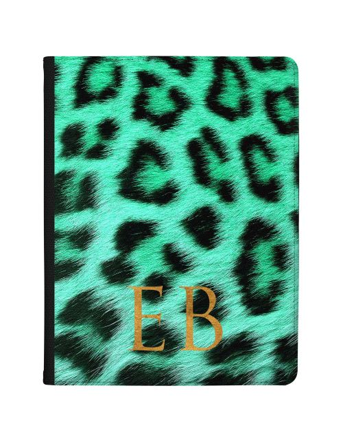 Cheetah Print - Jade Green tablet case available for all major manufacturers including Apple, Samsung & Sony