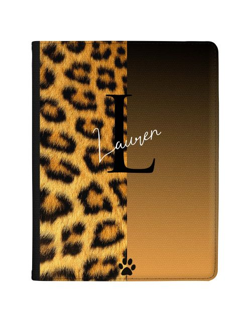 Cheetah Print - Two Tone Mocha tablet case available for all major manufacturers including Apple, Samsung & Sony