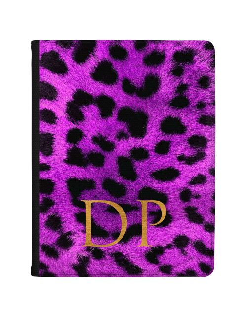 Leopard Print - Dark Purple tablet case available for all major manufacturers including Apple, Samsung & Sony