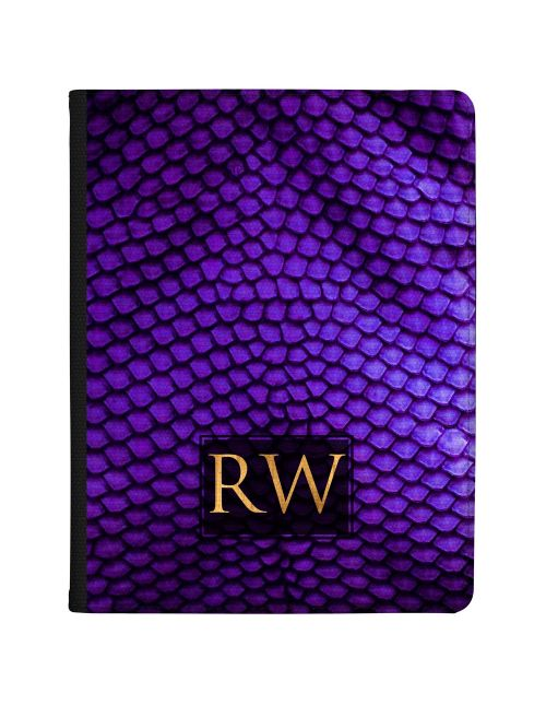 Lizard Skin - Dark Purple tablet case available for all major manufacturers including Apple, Samsung & Sony