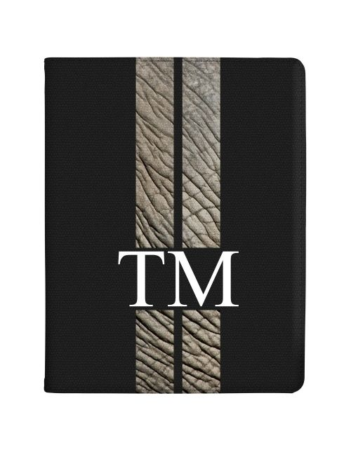 Racing Stripes - Elephant tablet case available for all major manufacturers including Apple, Samsung & Sony